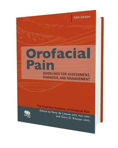 9780867156102: Orofacial Pain: Guidelines for Assessment, Diagnosis, and Management, Fifth Edition