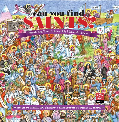 9780867164879: Can You Find the Saints?: Introducing Your Child to Holy Men and Women