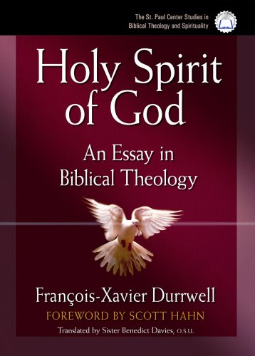 9780867167856: The Holy Spirit of God: An Essay in Biblical Theology