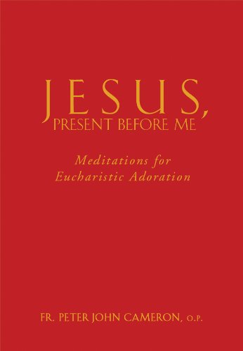 9780867168570: Jesus, Present Before Me: Meditations for Eucharistic Adoration