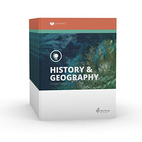 9780867170436: Lifepac Gold History & Geography Grade 9: Set of 10