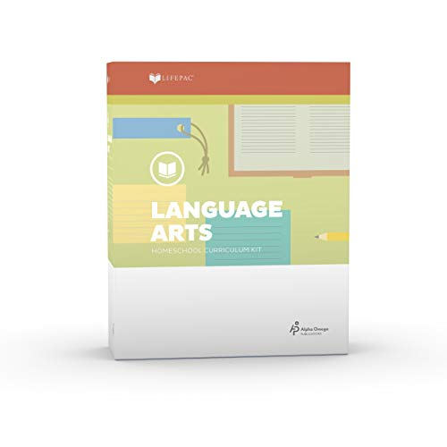 9780867170580: Lifepac Gold Language Arts Grade 5 Boxed Set
