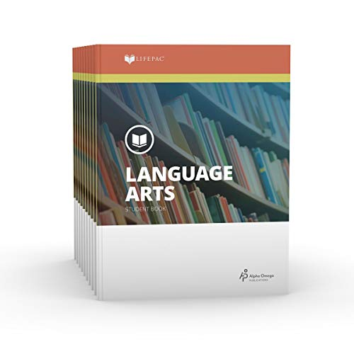 9780867170634: Lifepac Gold Language Arts Grade 7: Set of 10