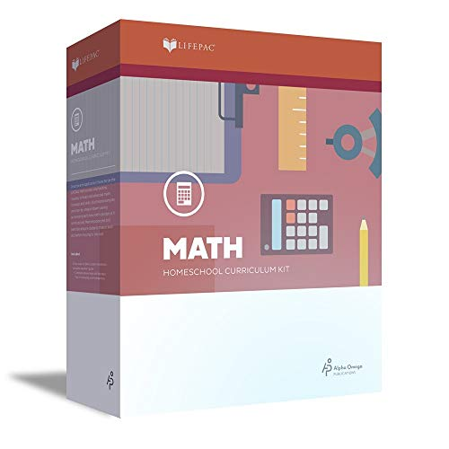 9780867170801: Lifepac Math Grd 4 Complete Set (Boxed Set)