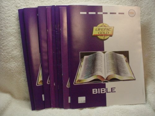 9780867171686: Lifepac Gold Bible 708 The Life of Christ: Part Two