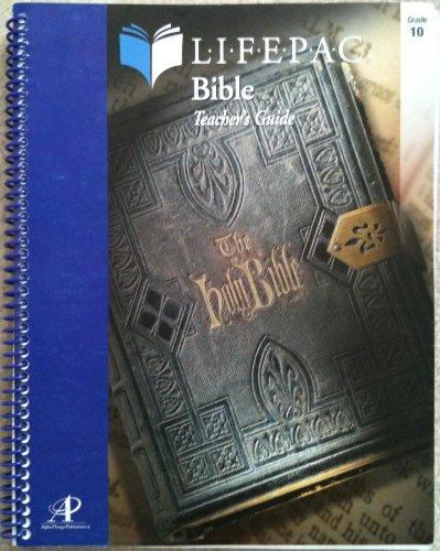 9780867172317: Lifepac Bible Grade 10