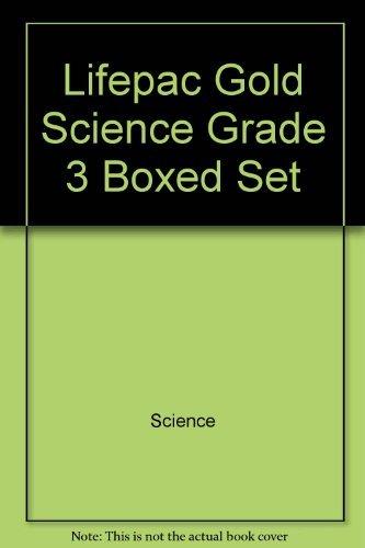 Lifepac Gold Science Grade 3 Boxed Set: Alpha Omega Publishing