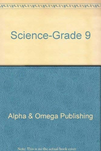 9780867172447: Science Grade 10: With Workbook and Teacher's Guide (Lifepac)
