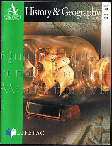 Lifepac History & Geography, Grade 10, Unit: Dorothea M.; Morse,