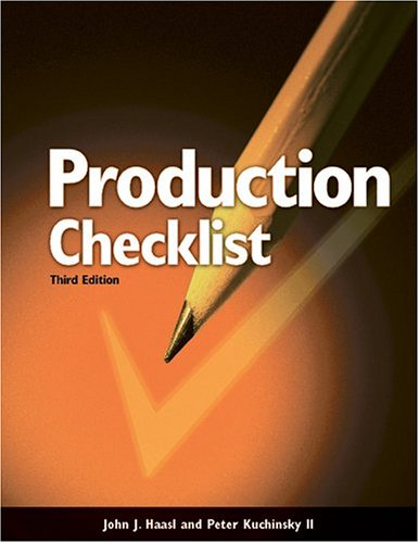 9780867185157: Production Checklist for Builders and Superintendents