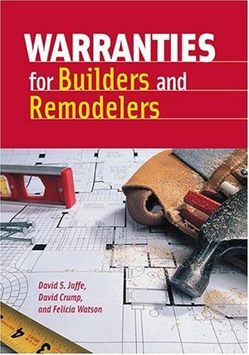 9780867186123: Warranties for Builders and Remodelers