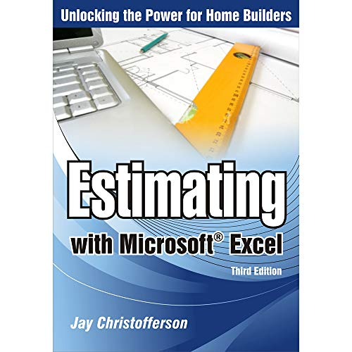 9780867186475: Estimating with Microsoft Excel, 3rd Edition