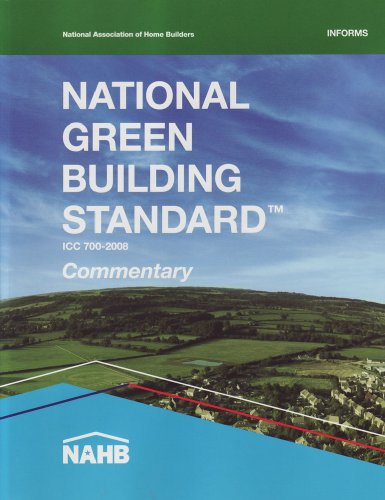 National Green Building Standard Commentary: National Association of Home Builders