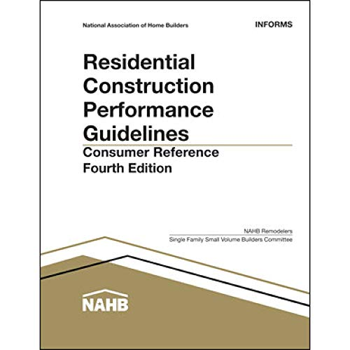 Residential Construction Performance Guidelines: Consumer Reference  (10 Pack)