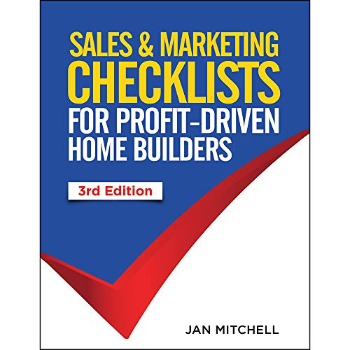 Sales & Marketing Checklists: For Profit-Driven Home: Jan Mitchell