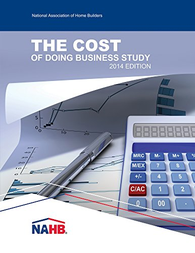 9780867187298: The Cost of Doing Business Study, 2014 Edition