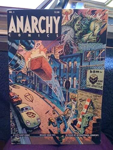 9780867191325: Anarchy Comics #3