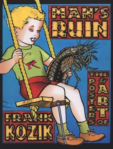 9780867193978: Man's Ruin: The Posters & Art of Frank Koznik