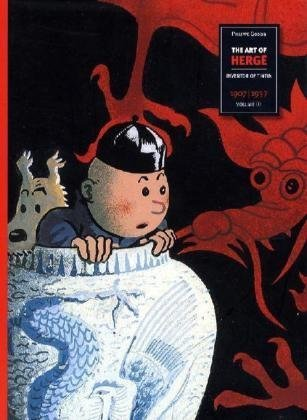 9780867197068: ART OF HERGE INVENTOR OF TINTIN 01 HC: 1907-1937 v. 1 (The Art of Herge)