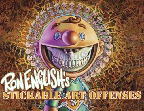 9780867197594: Ron English's Stickable Art Offenses