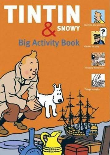 9780867197617: The Tintin & Snowy Big Activity Book