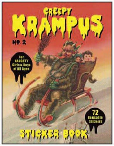 9780867198195: Krampus Sticker Book #2