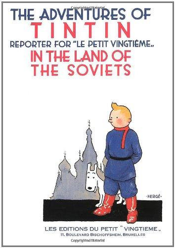 9780867199031: ADVENTURES OF TINTIN IN LAND OF SOVIETS