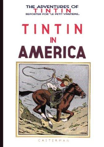 9780867199048: ADVENTURES OF TINTIN IN AMERICA