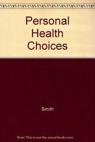 Im- Personal Health Choices (0867201312) by Lecturer in Contrinetal European Cinema Alison Smith