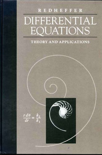 9780867202007: Differential Equations: Theory And Applications
