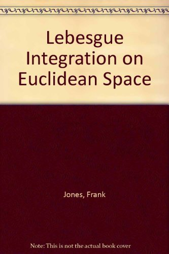 9780867202038: Lebesgue Integration on Euclidean Space