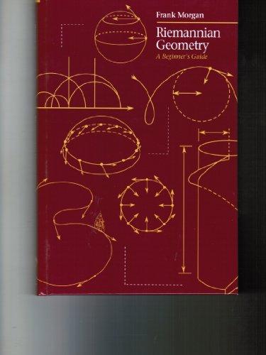 9780867202427: Riemannian Geometry: A Beginner's Guide (Jones and Bartlett Books in Mathematics)