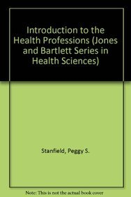 9780867204315: Intro to Health Professions (Jones and Bartlett Series in Health Sciences)