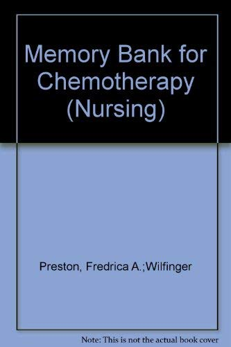 9780867206296: Memory Bank for Chemotherapy (The Jones and Bartlett Memory Bank)
