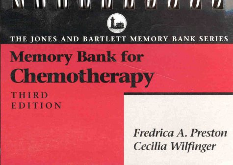 9780867207408: Memory Bank for Chemotherapy (Jones and Bartlett Pocket-Sized Nursing Reference Series)