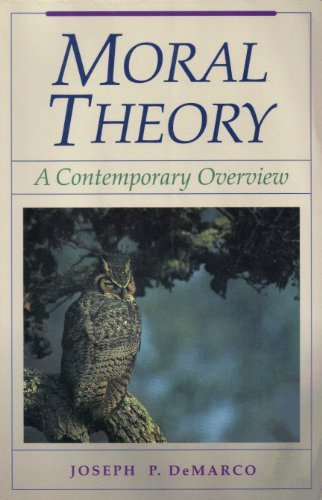 9780867209549: Moral Theory: A Contemporary Overview (The Jones and Barlett Series in Philosophy)