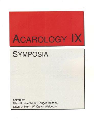 9780867271232: Acarology IX Proceedings