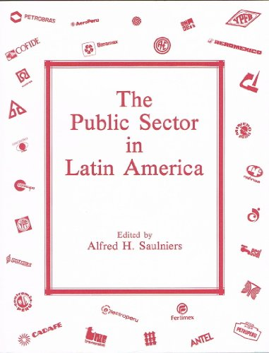 9780867280098: The Public Sector in Latin America (Special publication / Institute of Latin American Studies, University of Texas at Austin)