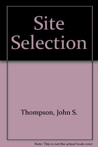 9780867305241: Site Selection