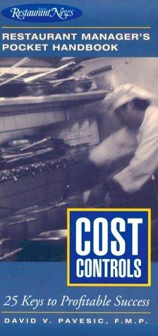9780867307511: Cost Controls: Restaurant Manager's Pocket Handbook Series