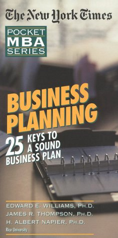 NYT Business Planning: 25 Keys to a: Edward E. Williams,