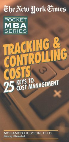 9780867307771: NYT Tracking and Controlling Costs: 25 Keys to Cost Management (The New York Times Pocket MBA Series)