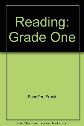 9780867340303: Reading: Grade One
