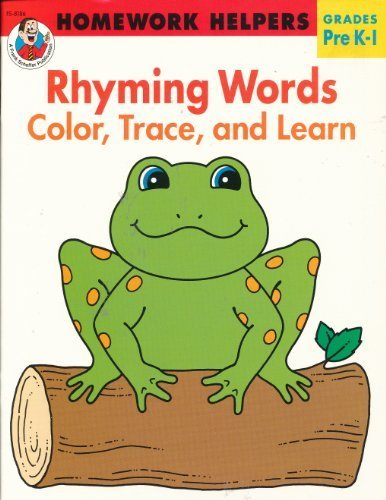 9780867341638: Rhyming Words: Color, Trace, and Learn (Homework Helpers, Grades Pre K-1)