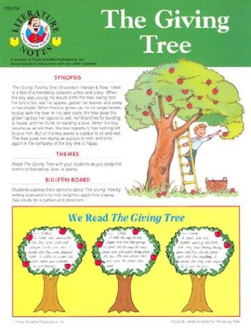 9780867342239: The Giving Tree: Activity Guide (Literature Notes, No. FS2724)
