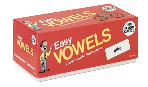 9780867344103: Easy Vowels (Phonics Flash Cards)