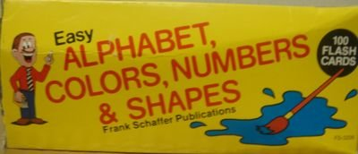 9780867344110: Easy Alphabet, Colors, Numbers, and Shapes (Phonics Flash Cards)