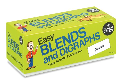 9780867344127: Easy Blends and Digraphs (Phonics Flash Cards)