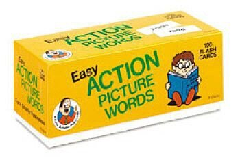 9780867344141: Easy Action Picture Words Flash Cards (Phonics Flash Cards)