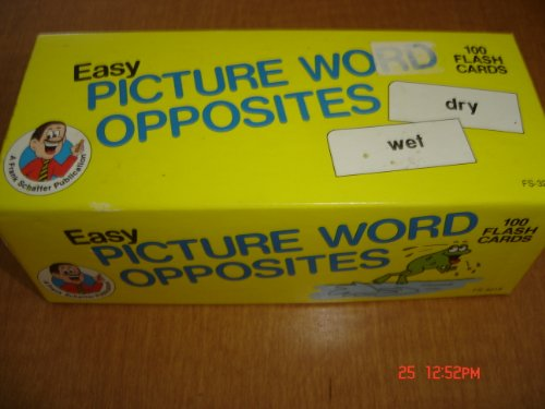 9780867344196: Easy Picture Word Opposites (Phonics Flash Cards)